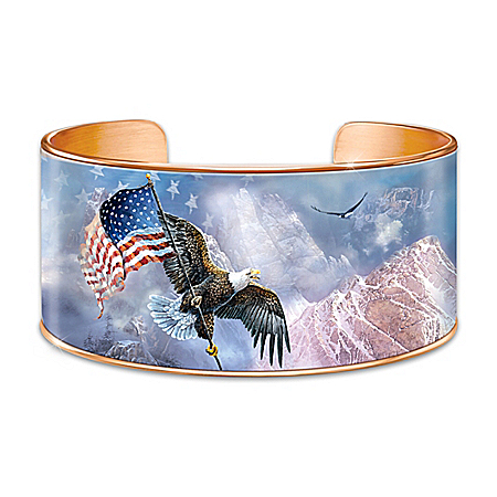 Ted Blaylock AmeriStrong Copper Cuff Bracelet