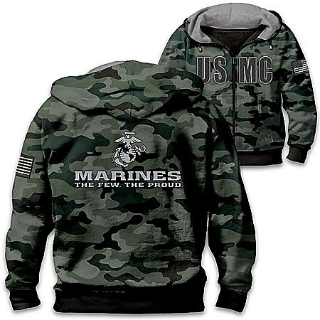 USMC Camo Men's Hoodie