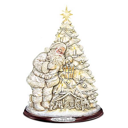 Thomas Kinkade The Miracle Of Christmas Tree