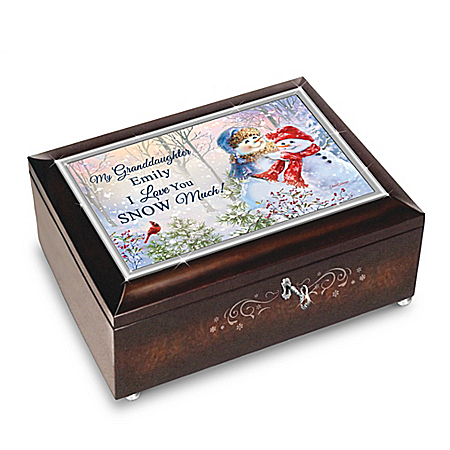 Dona Gelsinger Personalized Music Box For Granddaughter