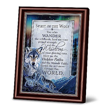Al Agnew Spirit Of The Wolf Framed Poem