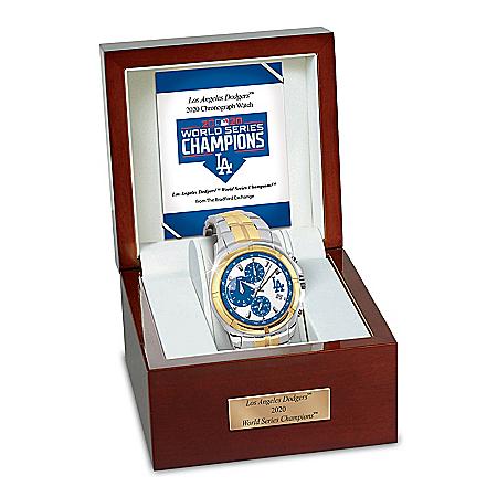 2020 World Series Champions Los Angeles Dodgers Men's Watch