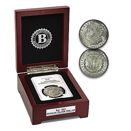 100th Anniversary Of The Last 1921 Morgan Silver Dollar Coin