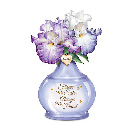 Forever My Sister Personalized Table Centerpiece – Personalized Jewelry