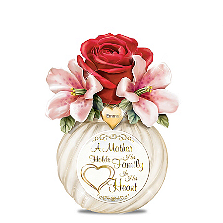 A Mother's Heart Personalized Table Centerpiece – Personalized Jewelry
