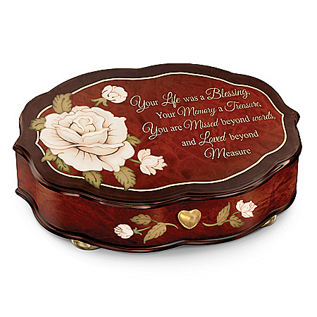 Forever In My Heart Swiss-Inspired Remembrance Music Box