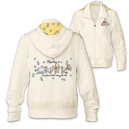 Disney Winnie The Pooh Friends Together Full-Zip Hoodie