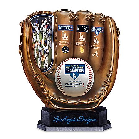 2020 World Series Champions Dodgers Sculpted Glove