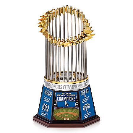 Dodgers 2020 World Series Champions Commemorative Trophy
