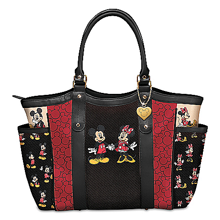 Disney Mickey Mouse And Minnie Mouse Forever Yours Tote Bag