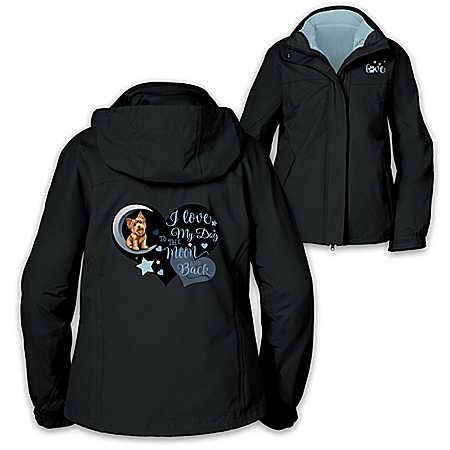 I Love My Dog 3-In-1 Women's Jacket: Choose Your Dog Breed