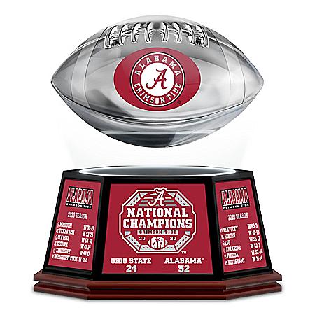 Alabama 2020 Football National Champions Levitating Football