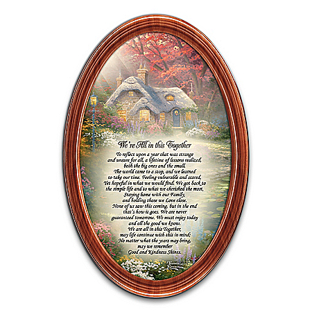 Thomas Kinkade We're All In This Together Framed Print