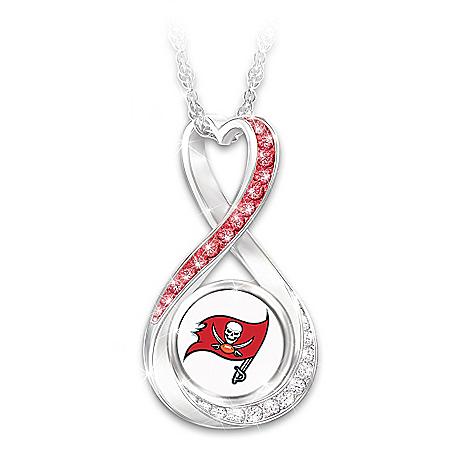 Buccaneers Super Bowl LV Champions Infinity Pendant