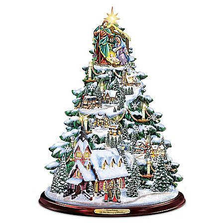 Thomas Kinkade The True Meaning Of Christmas Tree