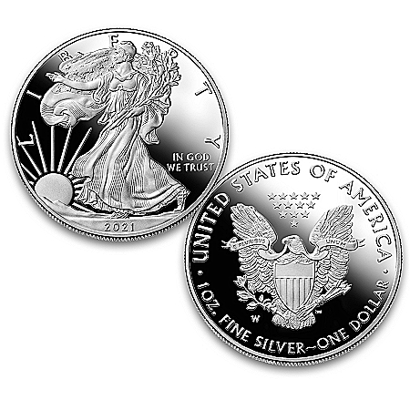 The Last Original 2021 Silver Eagle Proof Type 1 Coin