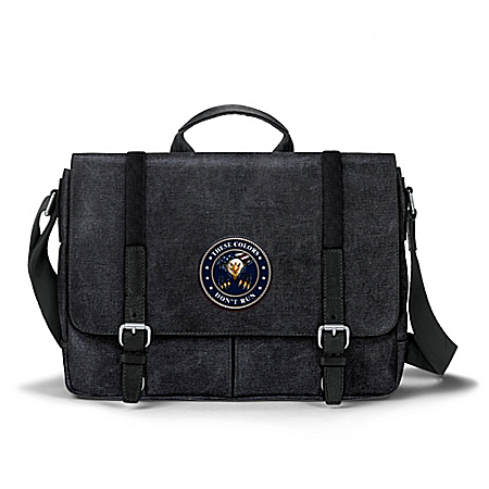 These Colors Don't Run Canvas Messenger Bag