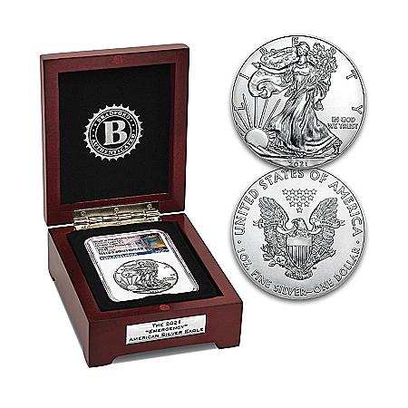 2021 Emergency American Eagle Silver Dollar Coin