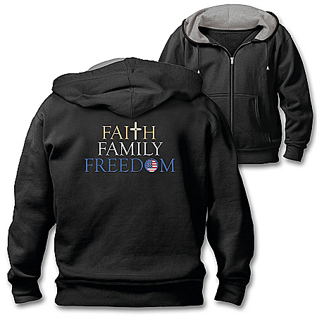 Faith, Family, Freedom Men's Hoodie