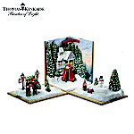 Thomas Kinkade Holiday Showcase Christmas Tabletop Decoration