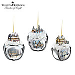 Christmas Ornament Thomas Kinkade Sleigh Bells Christmas Tree Ornaments