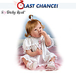 Huti Picture-Perfect Collectible Baby Girl Doll