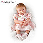 Little Rose Petal Collectible Vinyl Baby Doll