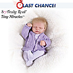 Tiny Miracles Emma Miniature Lifelike Baby Girl Doll: So Truly Real