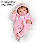 Tiny Miracles Martha Viola Baby Doll: So Truly Real