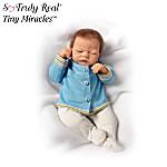 Linda Webb Tiny Miracle Michael Lifelike Baby Doll