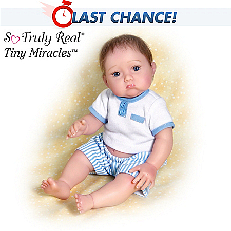 Christopher Needs A Kiss Baby Boy Doll