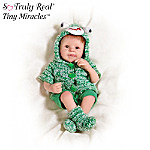 Tiny Miracles Freddie Froggy Baby Boy Doll: So Truly Real