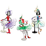 Dolly Mamas Happy Hour Ornament Set: Set Three