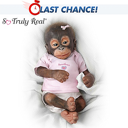 Little Umi Orangutan Doll: Collectible Monkey Doll