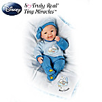 Bright Eyed Baby Donald Doll: Lifelike Baby Doll With Baby Donald Sleeper