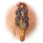 Native American-Inspired Autumn Howling Winds Doll