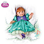 Disneys Oceans Of Dreams: Lifelike Musical Baby Doll in Princess Ariel Outfit