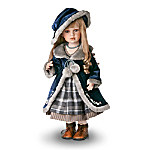 Rosalind Collectible Vintage Style Porcelain Doll: 22