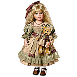 Nell Collectible Porcelain Vintage Style Doll