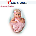 Heavenly Handfuls Dancing For Hope Breast Cancer Support Baby Doll