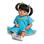Lifelike Hispanic Doll: Isabel