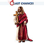 Jesus Christ Poseable Porcelain Figure: In Remembrance Of Me