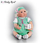Breast Cancer Support Lifelike Baby Doll: Keep Courage For The Cause