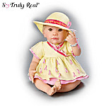 Breast Cancer Support Lifelike Baby Doll: Hats Off For The Cause