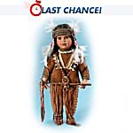 Native American-Style Porcelain Tonda Doll