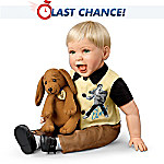 The Elvis Inspired Hound Dog Baby Doll: Comes With a Free Musical Plush Dog