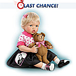 Collectible Teddy Bears The Elvis Inspired Don't Be Cruel Baby Doll: Comes With A Free Musical Teddy Bear Plush