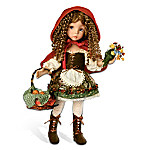 Little Red Riding Hood Fashion Doll: Ball-Jointed And Fully Poseable