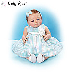 So Truly Real Bows Of Beauty Lifelike Baby Doll