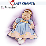 Sweet Slumber: 21-Inch Collectible Lifelike Baby Doll